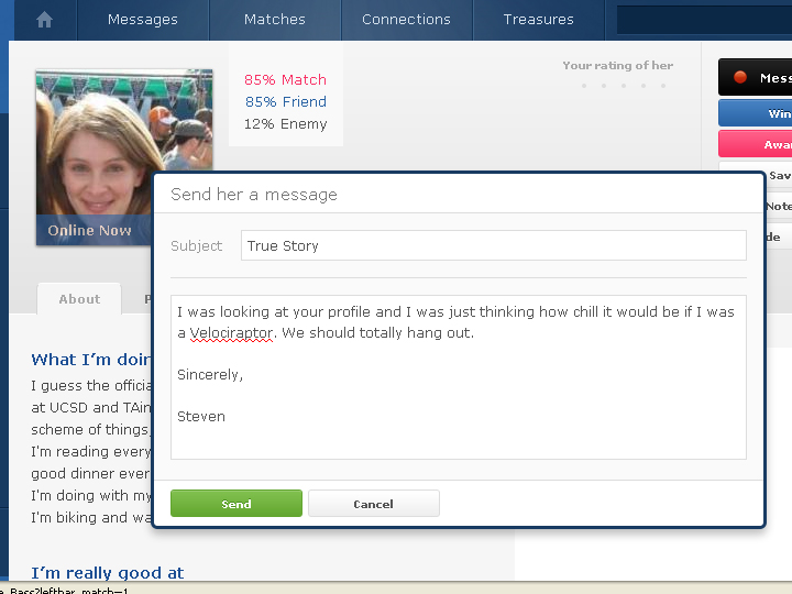 best ok cupid messages