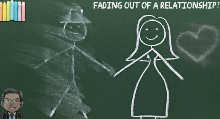 Fading out of relationship