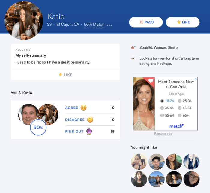 How to search on okcupid