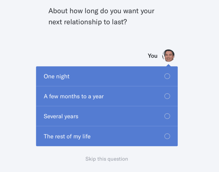 okcupid questions